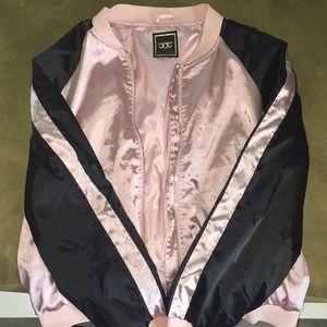 Jackets & Blazers - light pink and black jacket